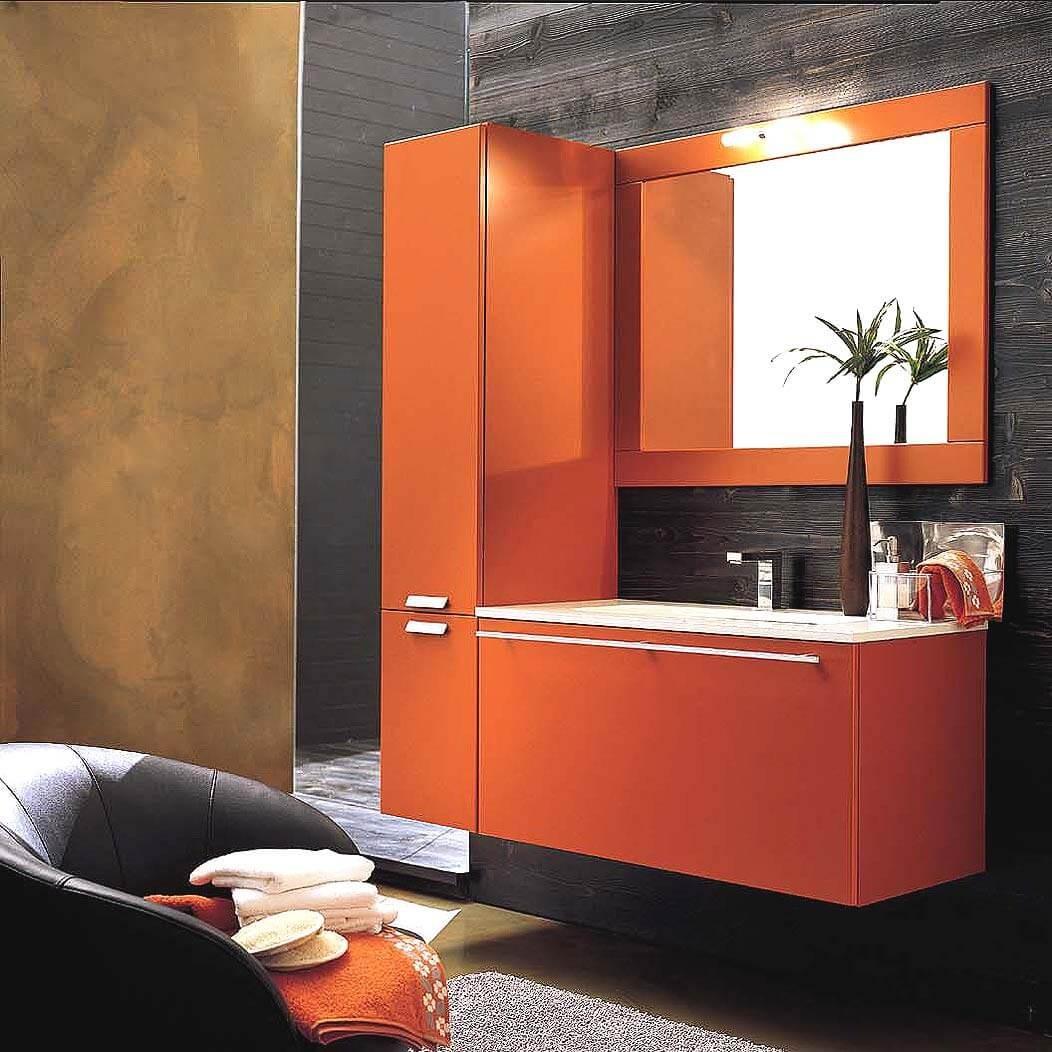 turuncu-renk-banyo-dolaplari
