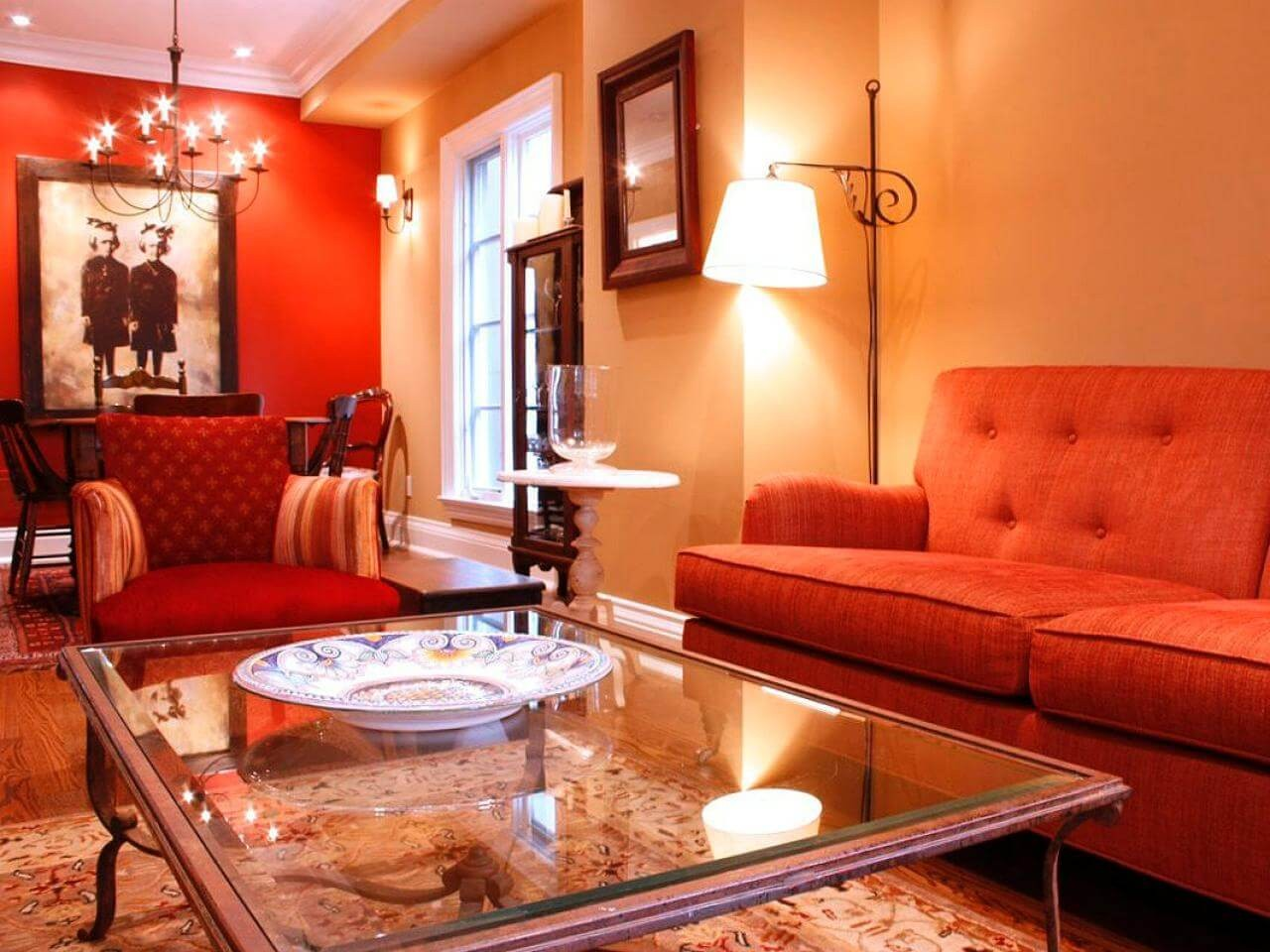 turuncu-renk-ev-dekorasyon