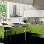 yesil-renk-mutfak-dekorasyonu