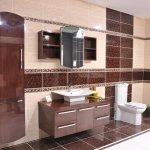 kahverengi-banyo-dekorasyonu