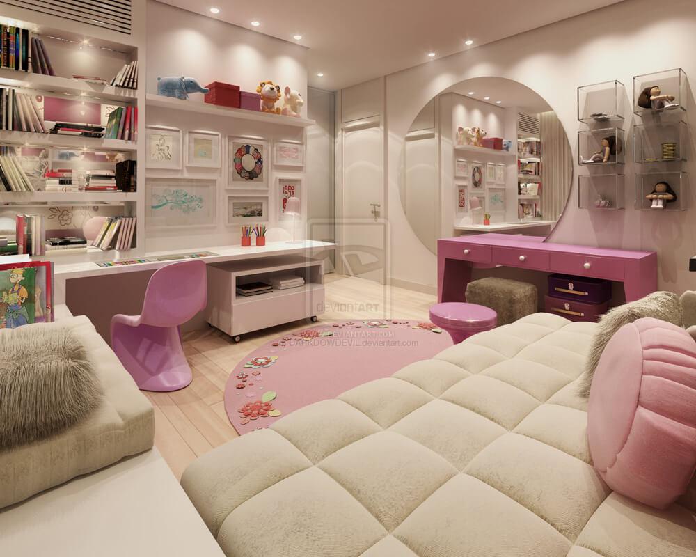 2016 genç kız odası