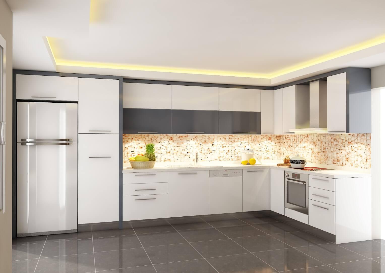 2016 modern mutfak
