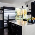 Siyah Beyaz Mutfak Dekorasyonu 1