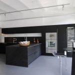 Siyah Beyaz Mutfak Dekorasyonu 4