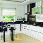 Siyah Beyaz Mutfak Dekorasyonu 5
