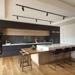 Siyah Beyaz Mutfak Dekorasyonu 7