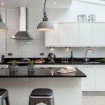 Siyah Beyaz Mutfak Dekorasyonu 8