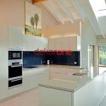 Beyaz Renk 2018 Lüks Mutfak Dekorasyonu Modelleri