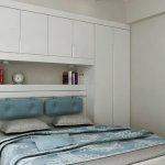 Beyaz Renkler Küçük Yatak Odası Takımı