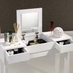 Beyaz Tuvalet Masası