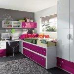 Modern Genç kız Odası Dekorasyon Fikirleri