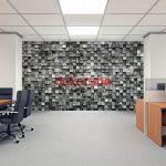 Taş Desenli Duvar Kağıdı 3D - 2