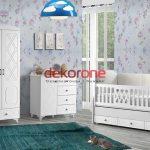 Küçük Bebek Odası Dekorasyonu Modelleri 1