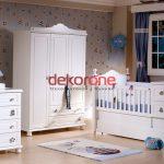 Küçük Bebek Odası Dekorasyonu Modelleri 4