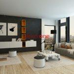 Siyah Beyaz Salon Dekorasyonu Fikirleri ve Modelleri 2