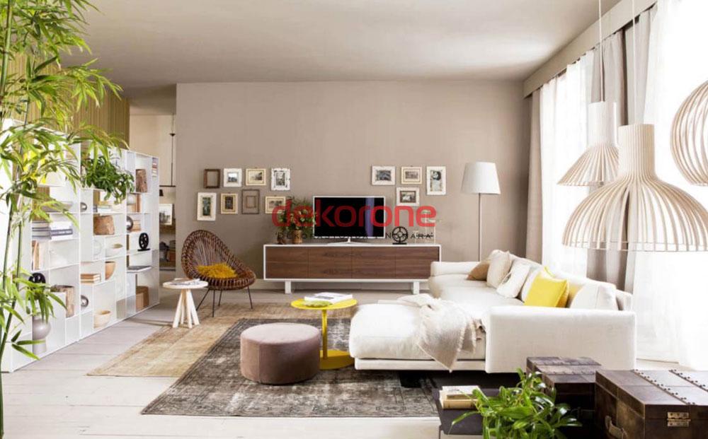 dikdortgen salon dekorasyon fikirleri 2. Black Bedroom Furniture Sets. Home Design Ideas