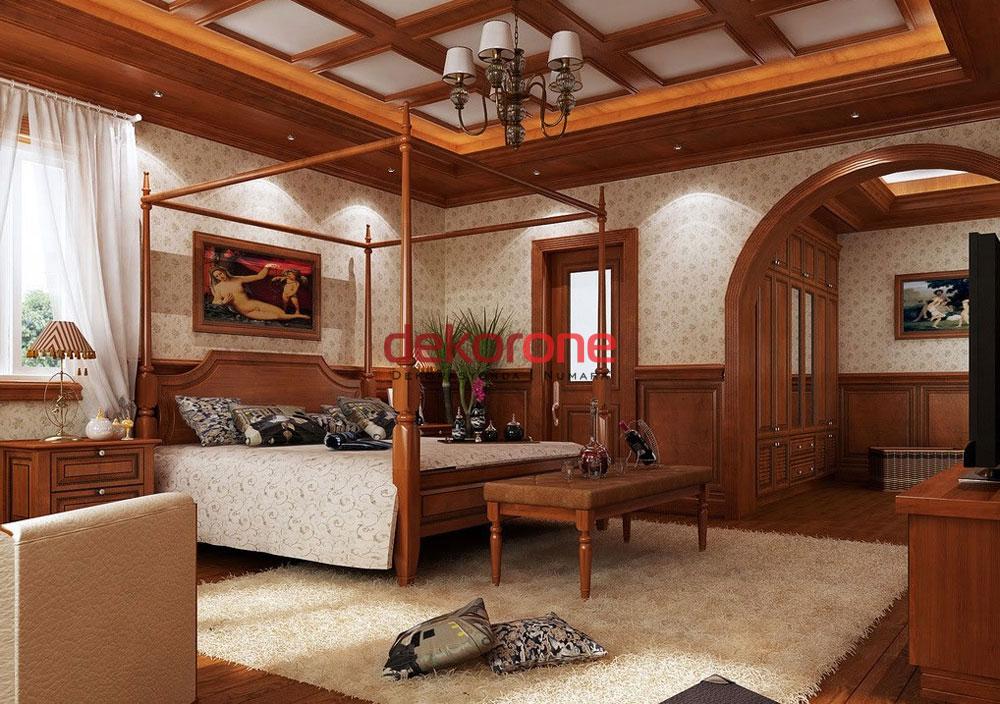 ahsap ev dekorasyonu fikirleri ve aksesuarlari 1