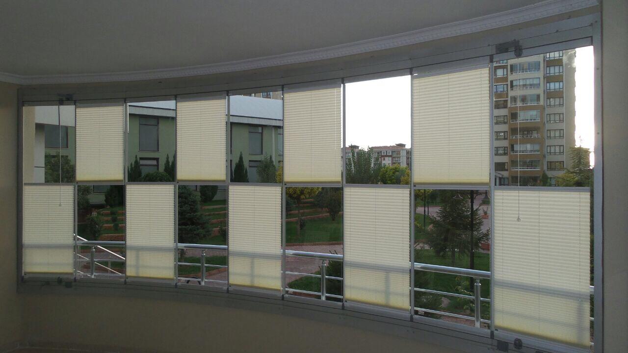 cam balkon plise merde modelleri 4