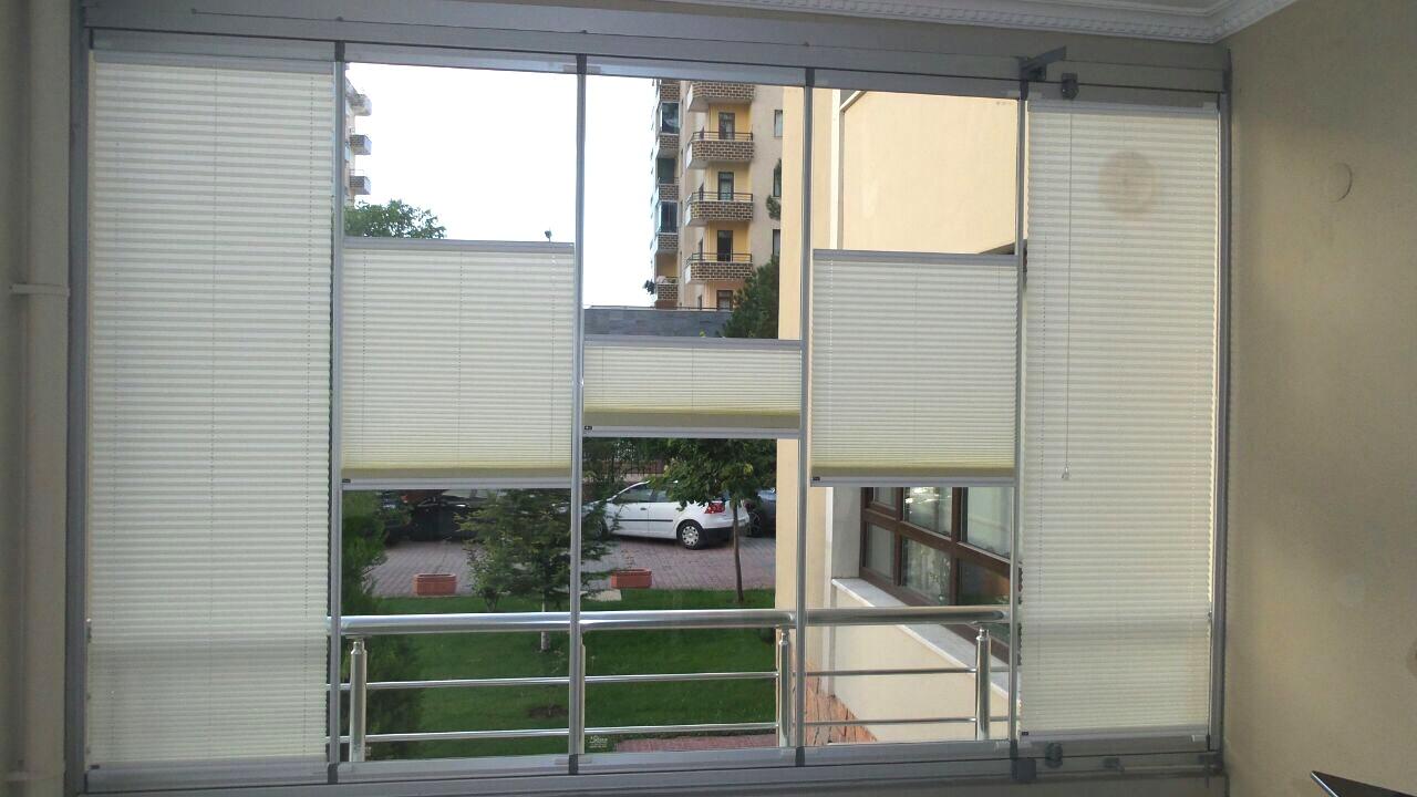 cam balkon plise merde modelleri 5