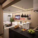 acik mutfak salon modelleri 1
