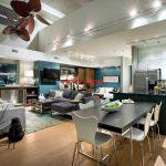 acik mutfak salon modelleri 8