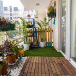 kucuk balkonlar icin dekoratif fikirleri 6