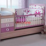 pembe tonlarda bebek odasi dekorasyonu 4