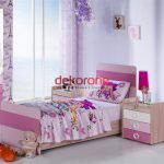 pembe tonlarda bebek odasi dekorasyonu 6