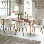2018 salon yemek masasi modelleri 1