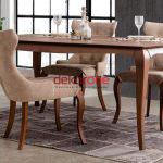 2018 salon yemek masasi modelleri 7
