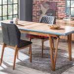 2018 salon yemek masasi modelleri 8