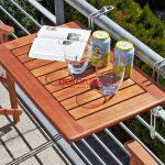 Dekoratif Balkon Masasi Fikirleri 3