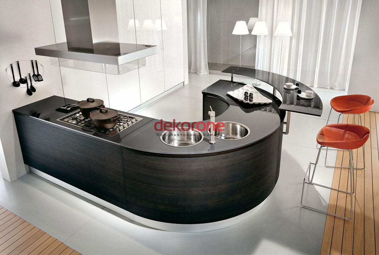 Oval Mutfak Modelleri 1