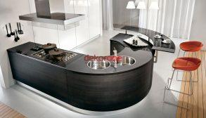 2019 Oval Mutfak Modelleri 5
