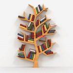 Ağaç Ahşap Kitaplık Raf Modeli