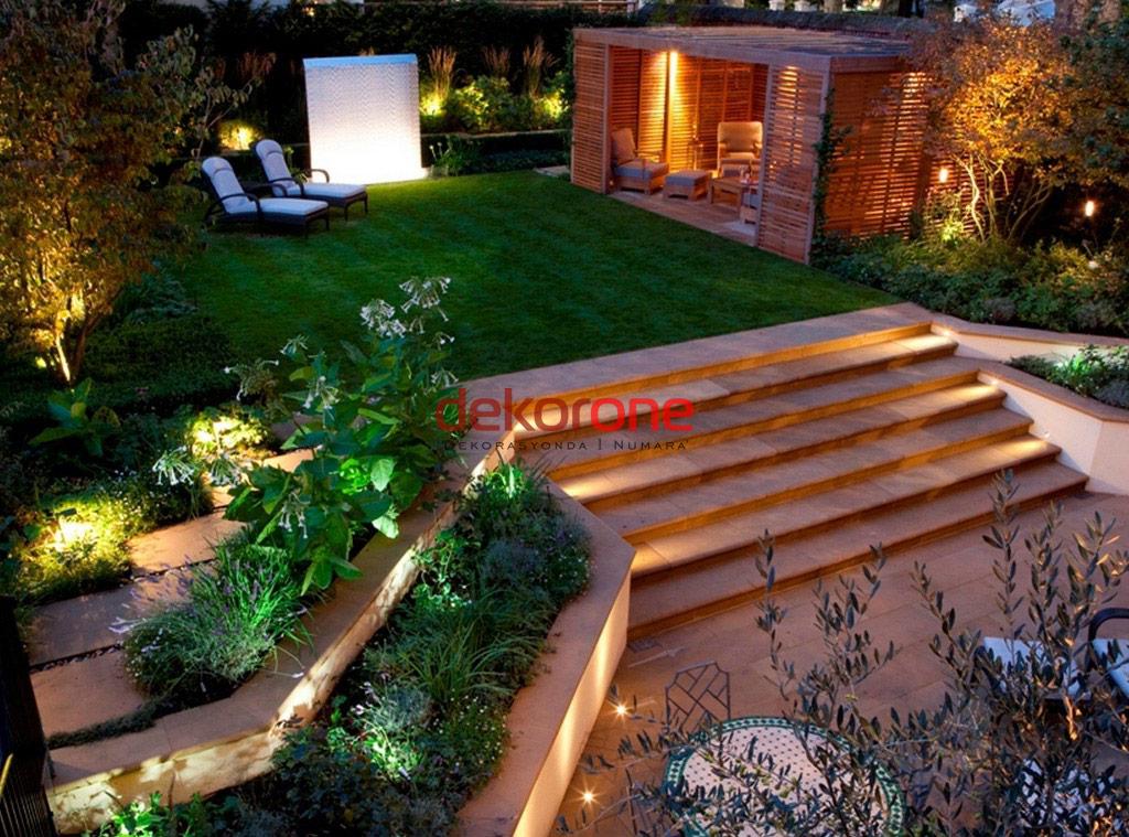 Bahçe Dekorasyonu Aydınlatma Sistemleri