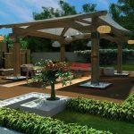 Bahçe Dekorasyonu Çardak Modelleri