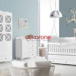 Beyaz Renk Bebek Odası Dekorasyon Örnekleri