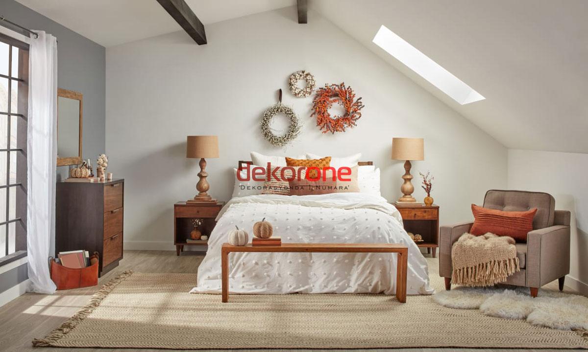 Çatı Katı Yatak Odası Dekorasyon Fikirleri