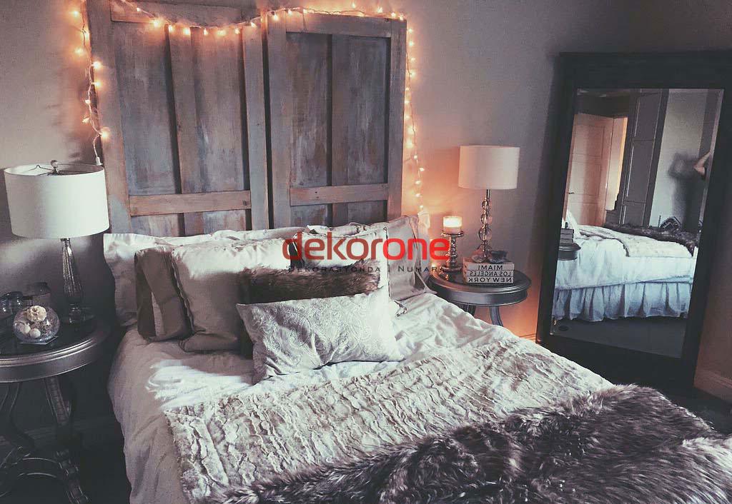 Doğal Yatak Odası Dekor Örnekleri
