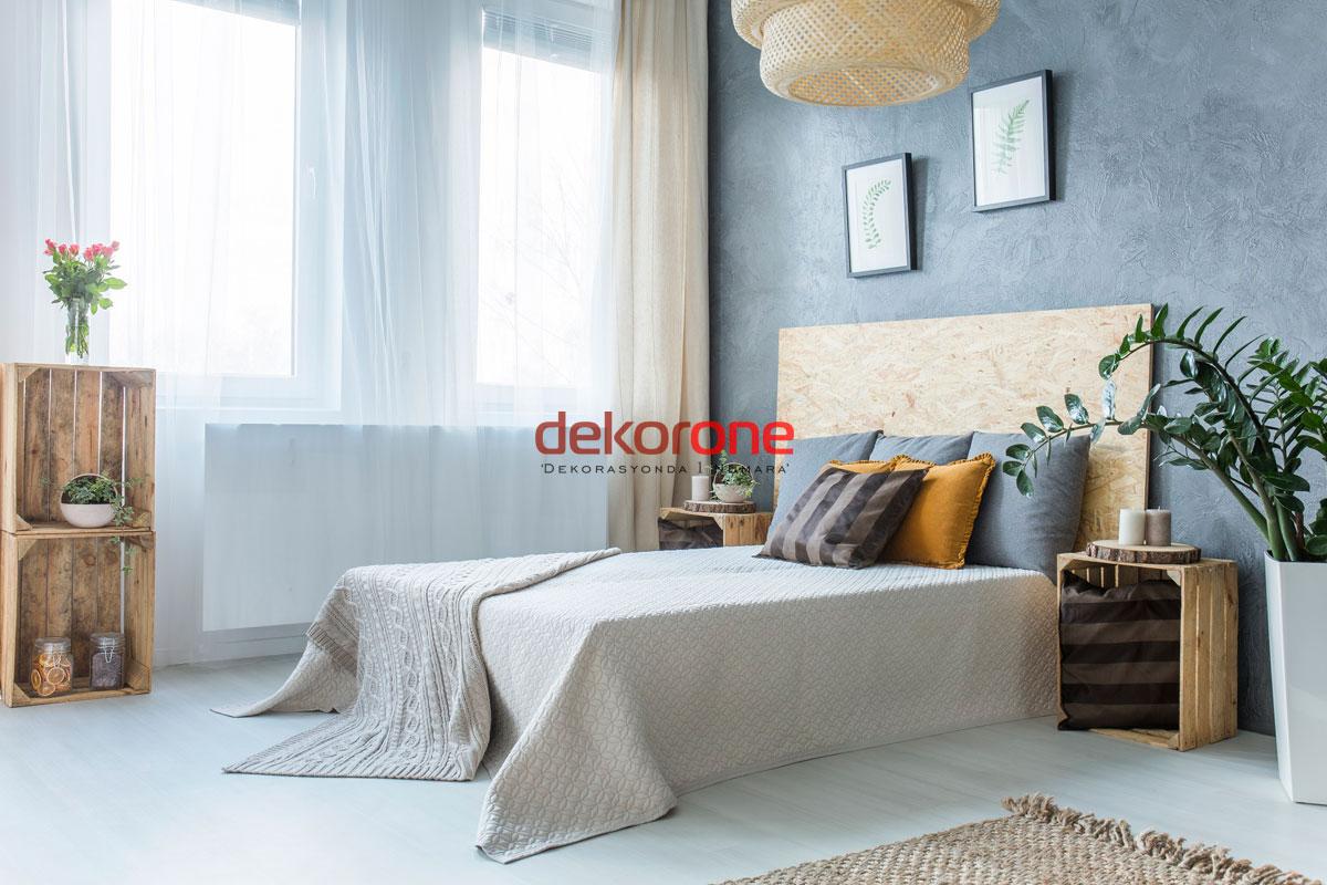 Kendin Yap Yatak Odası Dekorasyonu Fikirleri