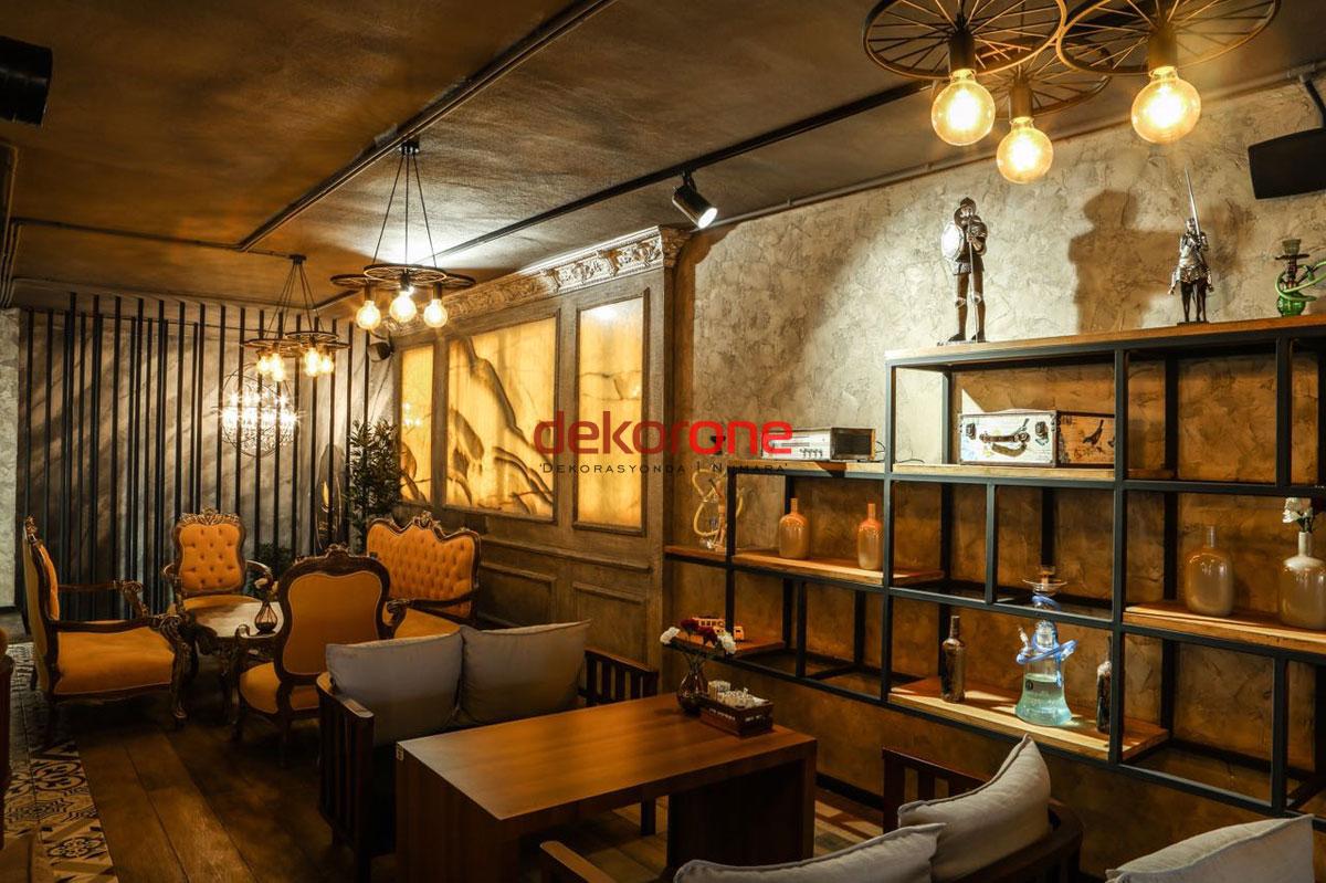 Klasik Cafe Dekorasyon Fikirleri