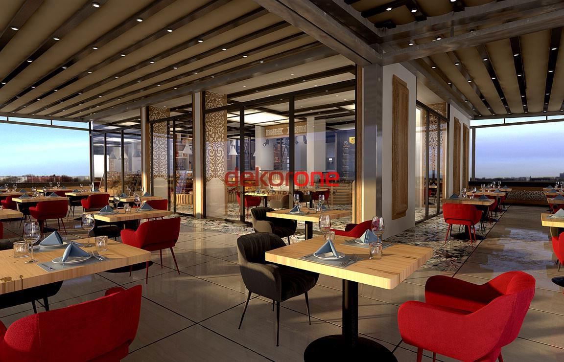 Modern Cafe Dekorasyonu Önerileri