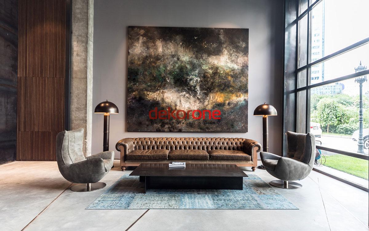 Ofis Bekleme Salonu Dekorasyonu