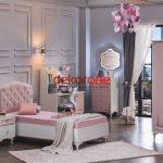 Pembe Kız Çocuk Odası Dekorasyonu