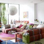 Renkli Ev Dekorasyonu Fikirleri