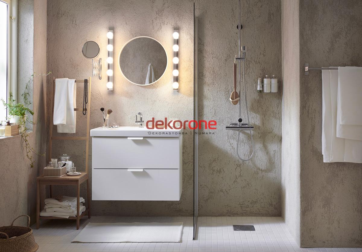 Retro Banyo Dekorasyonu Tasarımları