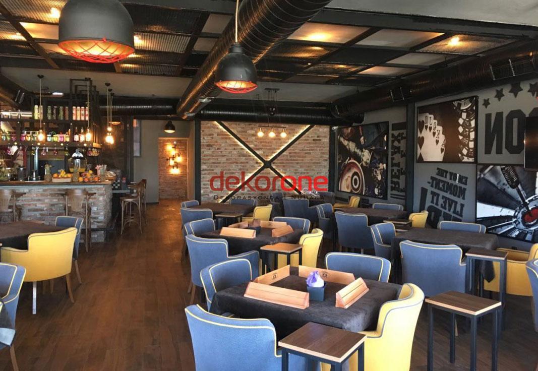 Rock Cafe Dekorasyonu Fikirleri