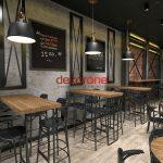 Rock Cafe Dekorasyon Önerileri