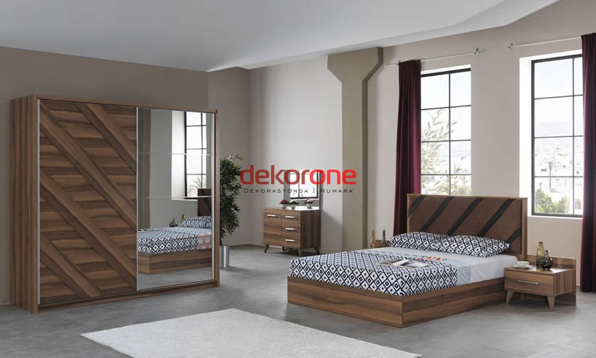Ahşap Klasik Yatak Odası Fikirleri